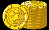 ポイントモンキーサイト内のゲームでもらえるメダルのイラスト
